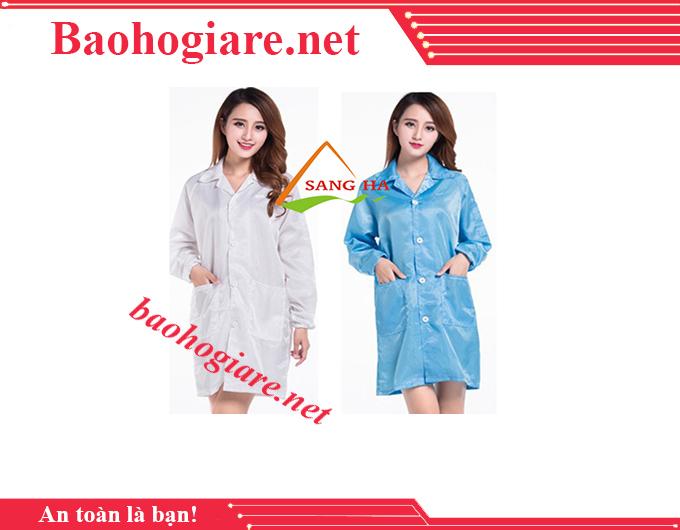 Áo phòng sạch blouse chống tĩnh điện