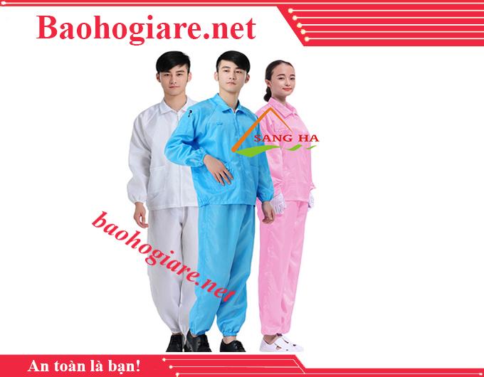 Quần áo phòng sạch chống tĩnh điện(BỘ RỜI, KHÔNG MŨ) giá rẻ tại TP.HCM - BẢO HỘ LAO ĐỘNG