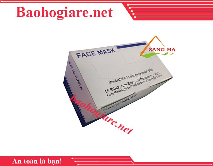 Khẩu trang y tế than hoạt tính facemask 3 lớp
