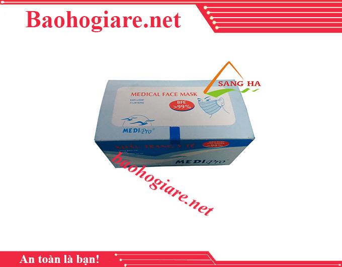 Khẩu trang y tế MEDIPRO 3 lớp an toàn giá rẻ TP.HCM - BẢO HỘ LAO ĐỘNG