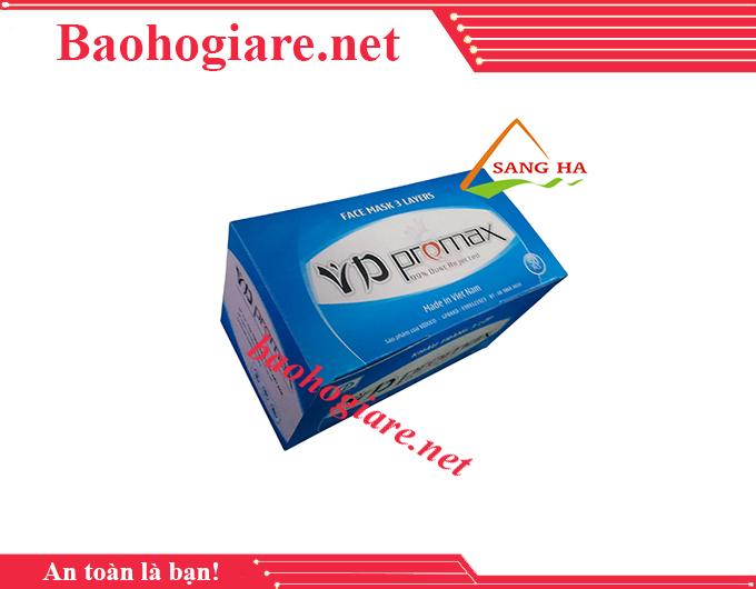 Khẩu trang y tế VD PROMAX 3 lớp hoạt tính giá rẻ TP.HCM - BẢO HỘ LAO ĐỘNG